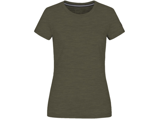 super.natural Essential Tee Women, olive night